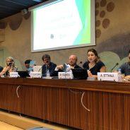 Activistas saharauis y del movimiento de solidaridad denuncian en Ginebra las vulneraciones de los derechos humanos en los territorios ocupados del Sahara Occidental